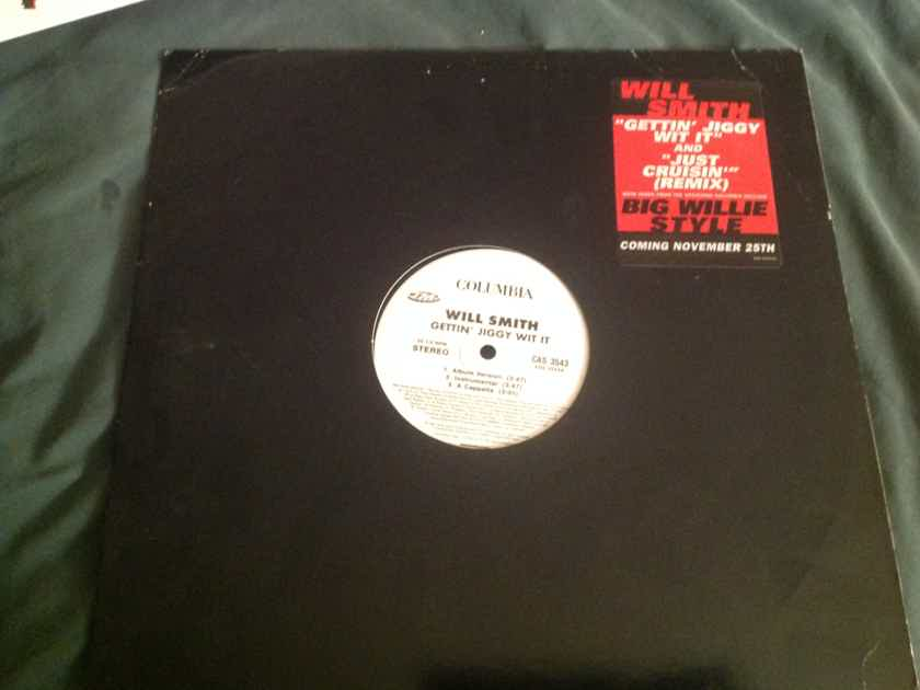 Will Smith  Gettin' Jiggy With It/Just Cruisin(Remix) Columbia Records 12 Inch Promo