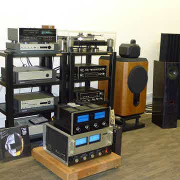B&W Matrix PHENOMENAL SET of 801 S2 with Maughanbox Crossover & Sound Anchor Stands