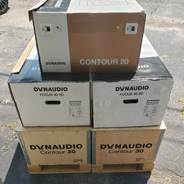 Dynaudio Focus 30 XD in HG Black
