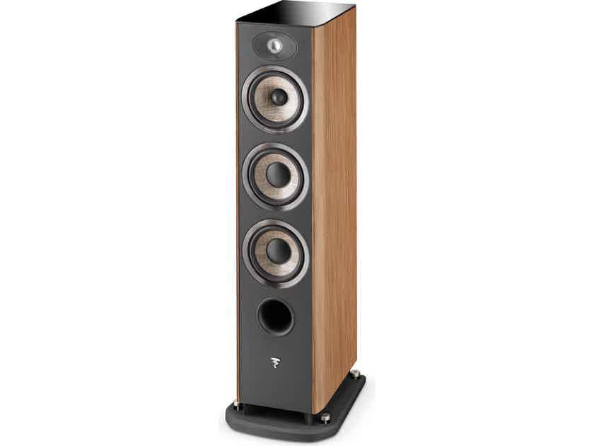 Focal Aria 926 Walnut PAIR - 3-Way 2x250 watt Floorstanding Speakers