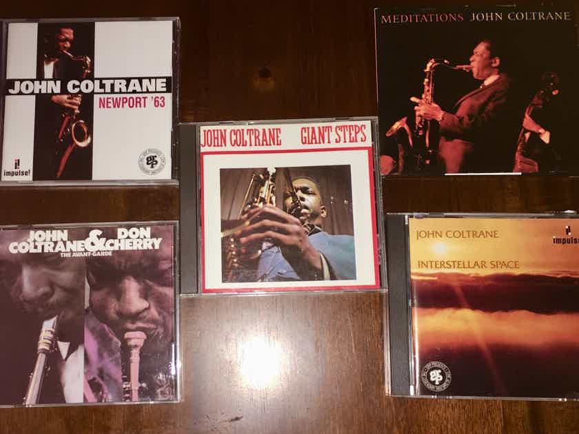 John Coltrane Collection:  Seven Albums with Eight Great CDs