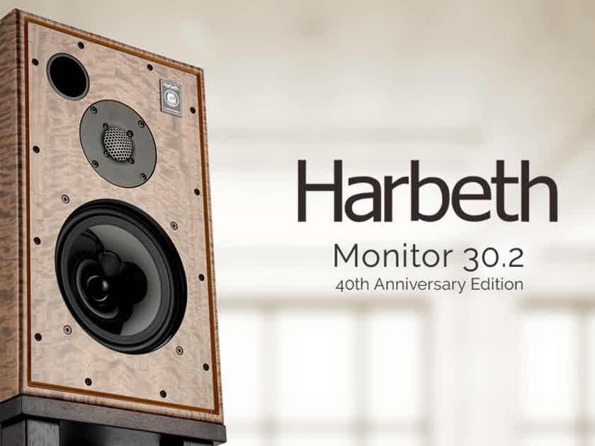 Harbeth  Monitor 30.2 Speakers 40th Anniversary in Eucalyptus
