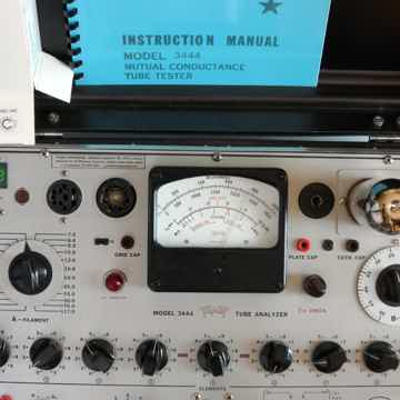 tripllett 3444 tube tester with current meter rebuilt and calibrated