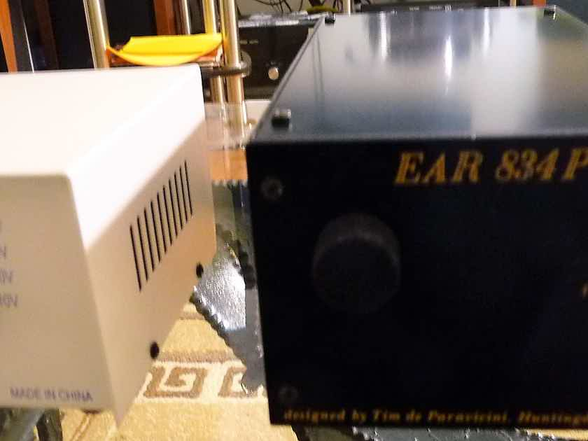 EAR 834P phono preamplifier MM/MC volume control