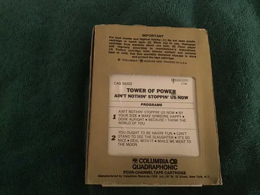 Tower Of Power Ain't Nothin' Stoppin' Us Now Quadraphonic 8 Track
