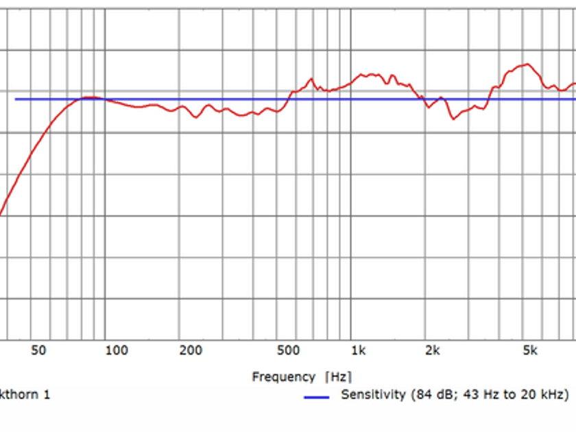 Verdant Audio - Blackthorn 1 - Carbon Fiber Cabinets (Pair)
