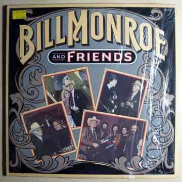 Bill Monroe - Bill Monroe And Friends - 1983 MCA Record...