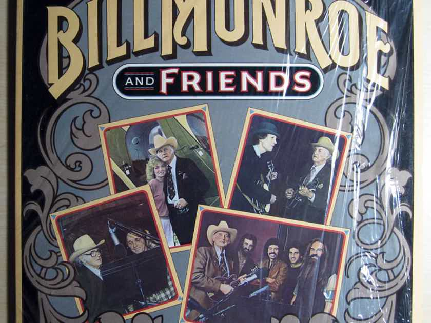 Bill Monroe - Bill Monroe And Friends - 1983 MCA Records ‎MCA-5435