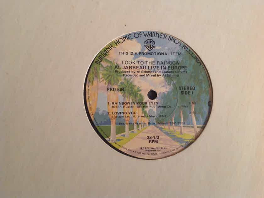 Al Jarreau Look To The Rainbow Al Jarreau Live In Europe Promo 12 Inch EP Warner Brothers Records