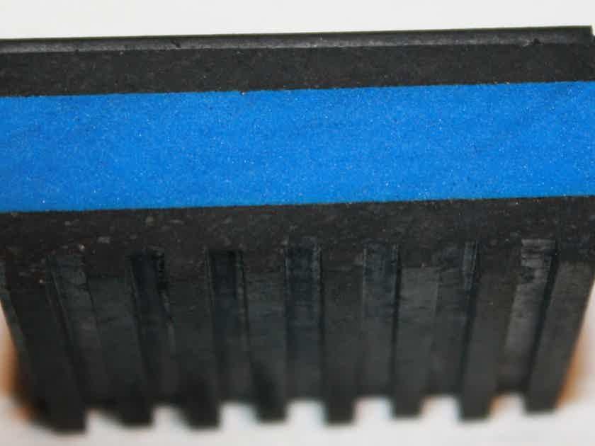 "Isolation Pads MP-2E E.V.A. Anti Vibration Pads. 2""x2""x7/8"". Set of 8"