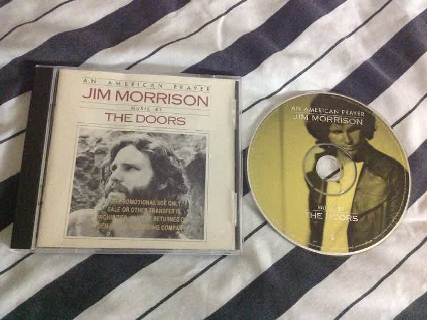 Jim Morrison & The Doors - An American Prayer Elektra Records Promo Compact Disc