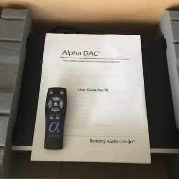 Alpha DAC Series 2