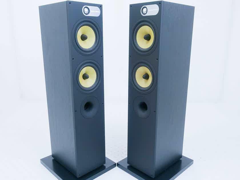 B&W 684 Floorstanding Speakers; Black Ash Pair (16003)
