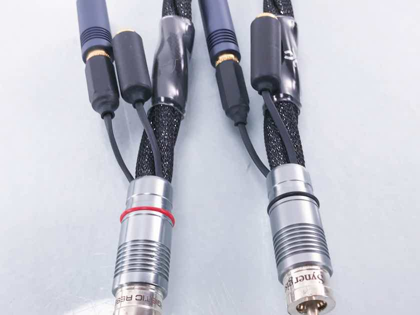 Synergistic Research Galileo LE RCA Cables 1m Pair Interconnects (Demo) (12927)