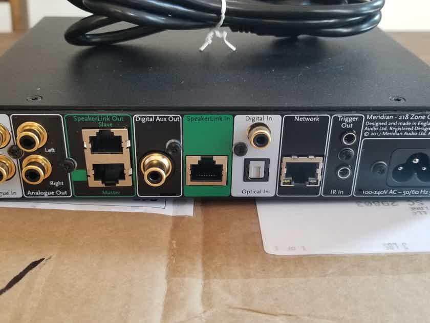 Meridian 218 Zone Controller & MQA Dac