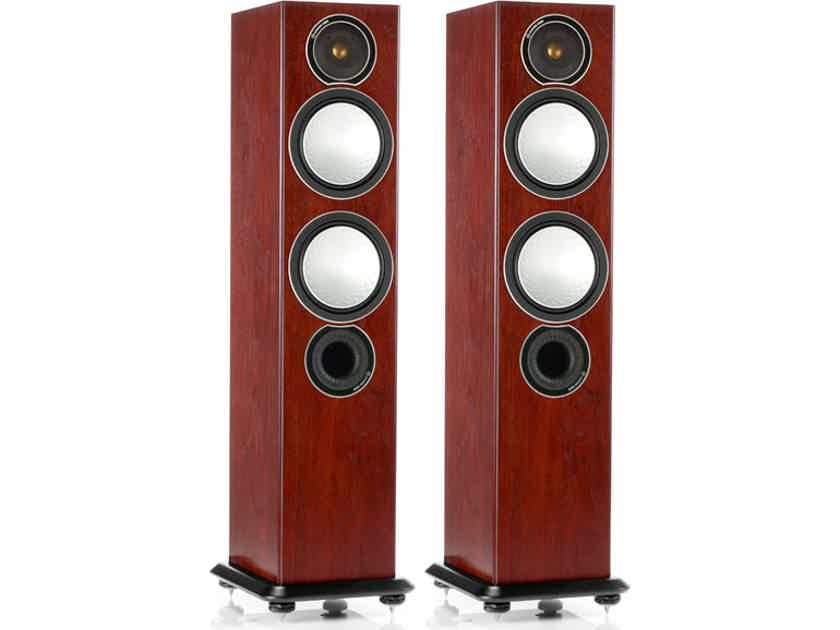 Monitor Audio Silver 6 Loudspeakers: - Brand New-in-Box; 5 Yr. Warranty; 40% Off; Free Shipping