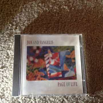 Jon & Vangelis - Page Of Life Austria Import Compact Disc
