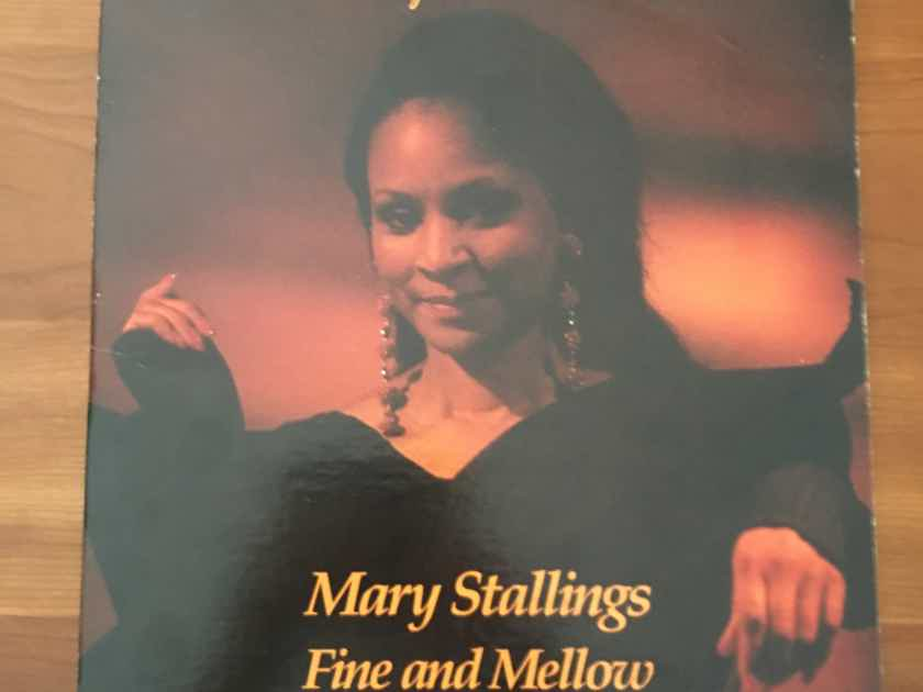 """RARE!  Mary Stallings """"Fine and Mellow"""" The Original Clarity CNB1001 Single 2-Sided LP  $65"""