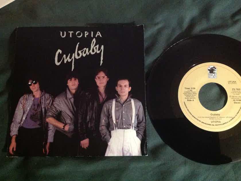 Utopia - Crybaby 45 With Sleeve