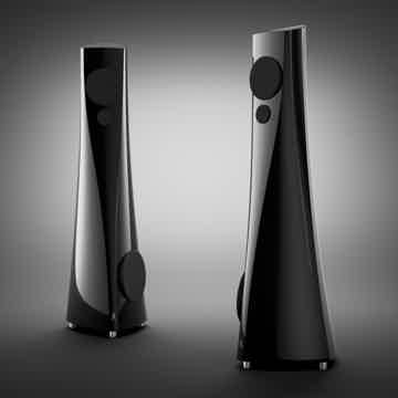 Estelon YB Floorstanding Speakers (Piano Black): MINT D...