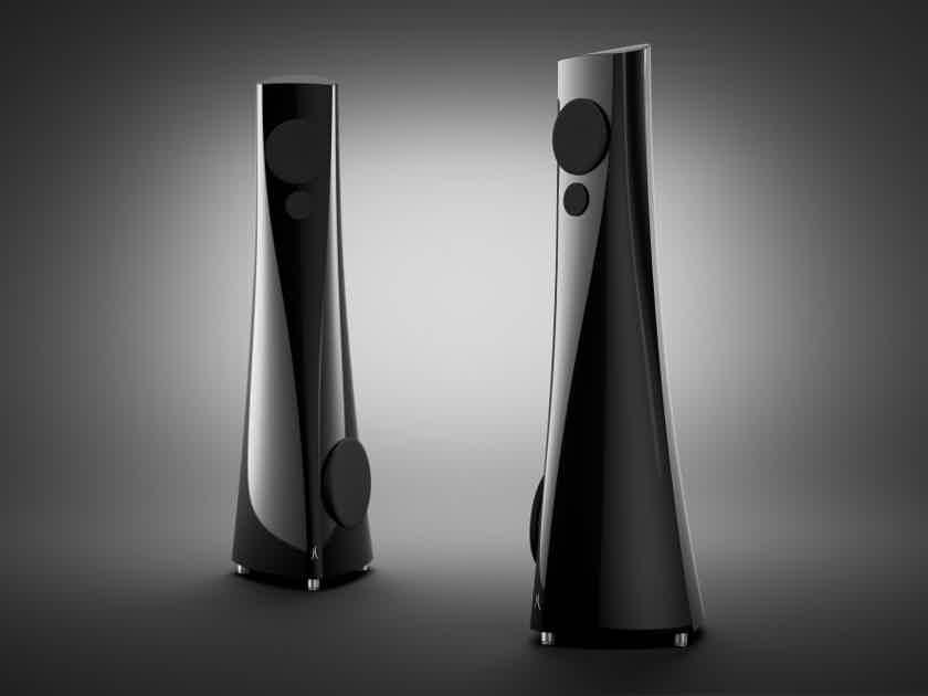 Estelon YB Floorstanding Speakers (Piano Black): MINT Demos; Full Warranty; 40% Off