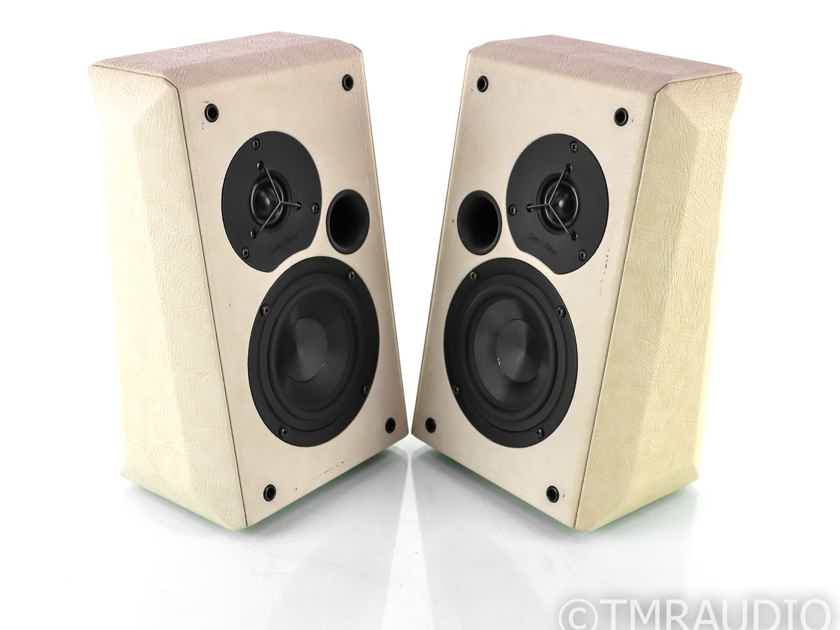 Sonus Faber Wall On-Wall / Surround Speakers; White Leather Pair (22163)