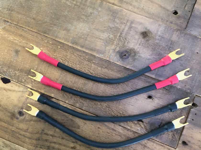 Speaker Jumper Cables, Transparent Audio Ultra