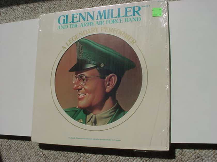 Glenn Miller and the Army Air Force Band - A Legendary Performer lp record volume 3 in shrink with booklet