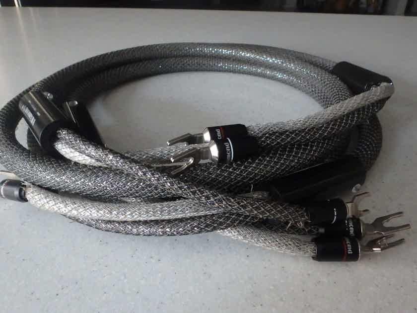 HiDiamond Diamond 7 Reference speaker cable 2M pr. spades