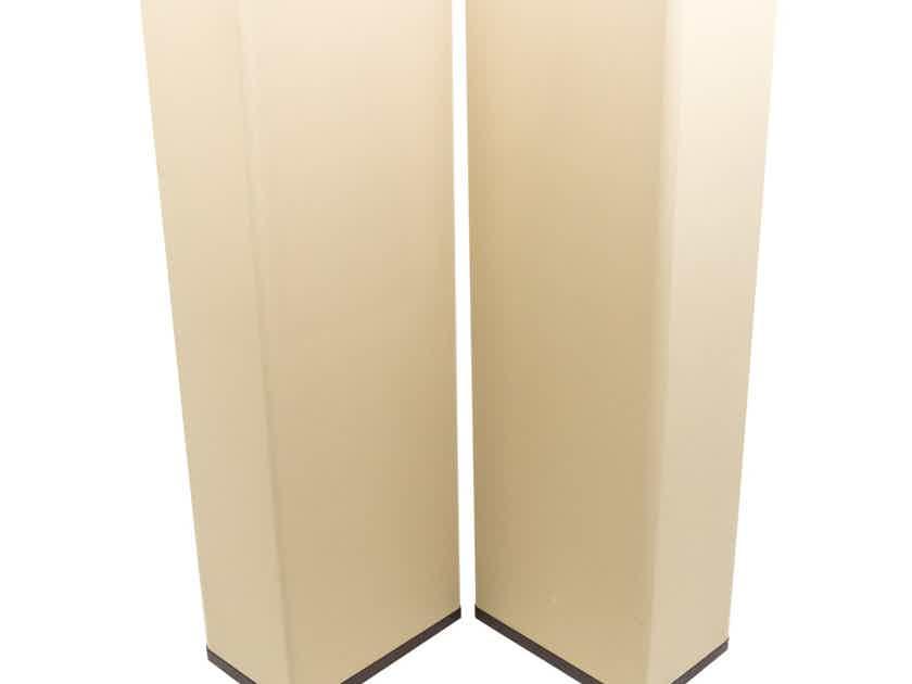 Vandersteen Model 3A Signature Speakers; Mahogany & Tan Pair (New Grill Cloths) (24102)