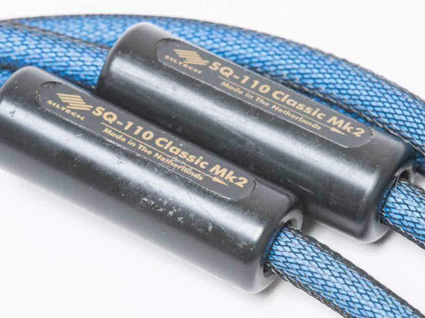 Siltech Cables SQ-110 Classic Mk 2 Interconnects 1m