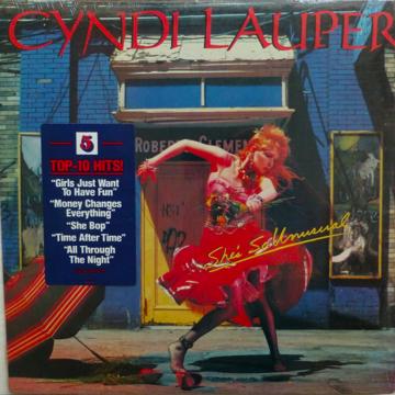 Cyndi Lauper She's So Unusual - 1983 - Sealed/New