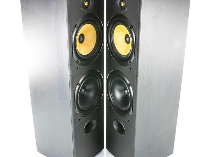 B&W DM603 Bookshelf Speakers; Black Ash Pair; DM-603 (23375)