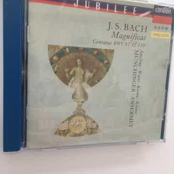 JS Bach Cantatas BWV 67 & 130 Magnificat Cd London jubilee 1992