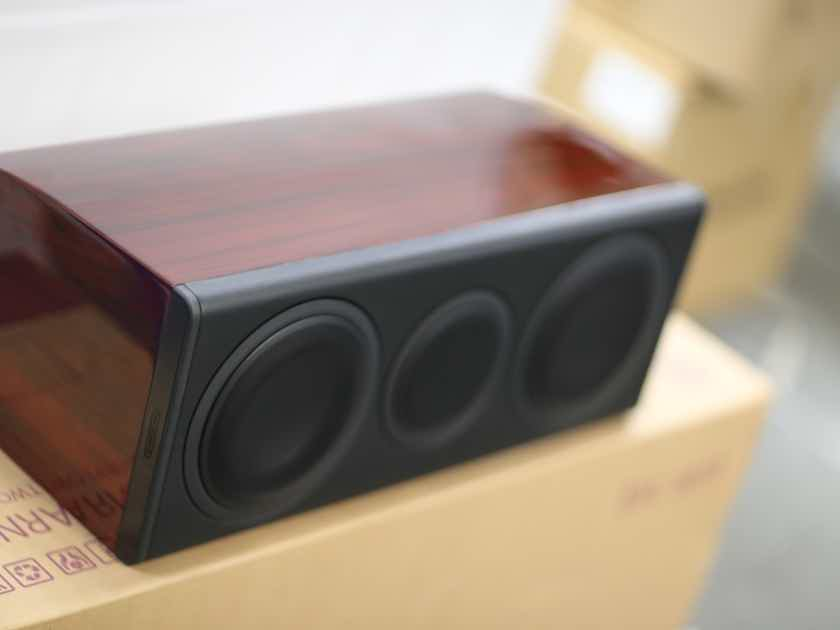 Monitor Audio PLC150II Platinum Series Center Channel Speaker (Rosewood)
