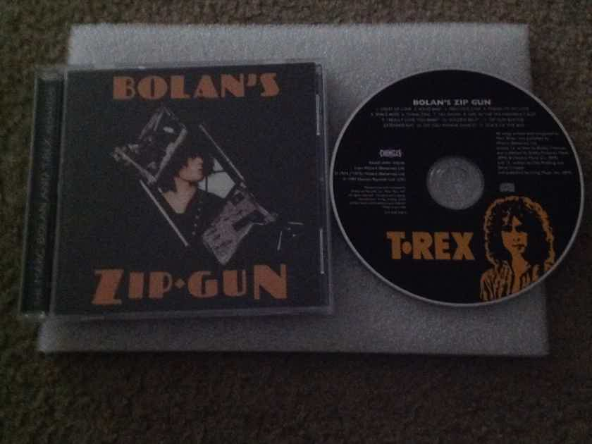T. Rex - Bolan's Zip Gun Polygram Chronicles Records Compact Disc