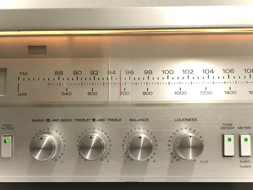 Concept 16.5 165WPC Dual Power Supply AM FM Stereo Receiver AMP WORKING!!