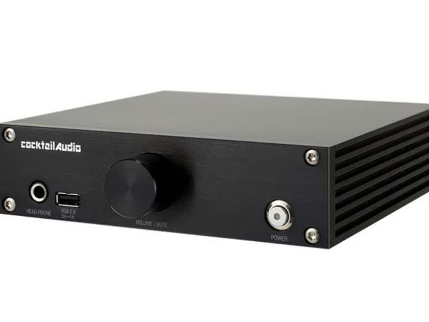Cocktail Audio N15D Network Streamer / Server; N-15D; Black (New) (16448)