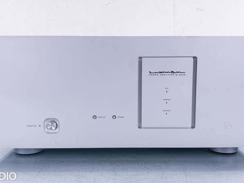 Luxman M-600A Stereo Power Amplifier M600A (14907)