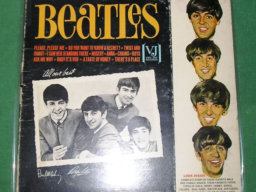 "BEATLES (The)  ""SONGS, PICTURES, &...."" - GENUINE 1964 MONO VEE-JAY * 9/10 *"