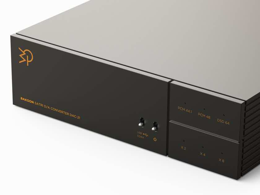 Bakoon DAC-21 --  Japanese DSD DAC w/ Battery Power! -- (One Demo Unit Available at JaguarAudioDesign.com)