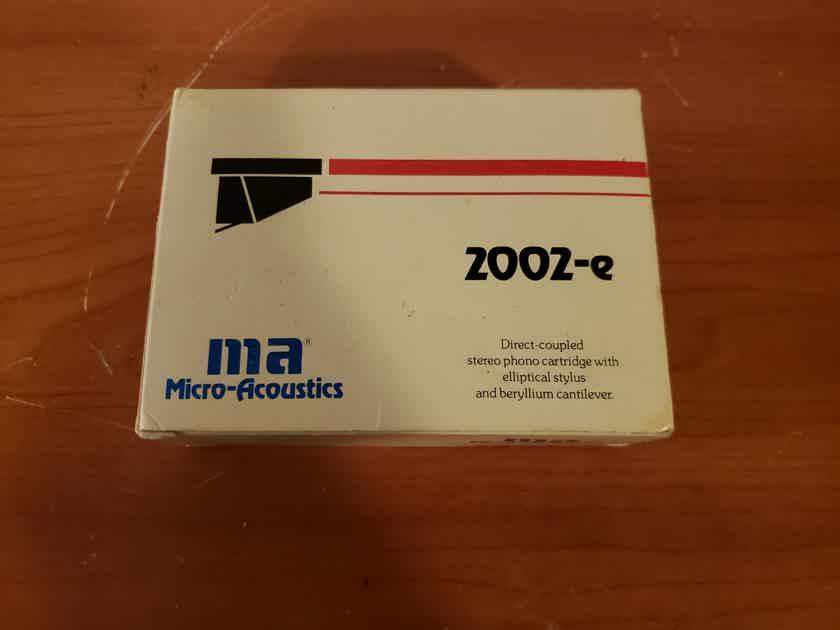 Micro-Acoustics 2002-e Stereo Cartridge.
