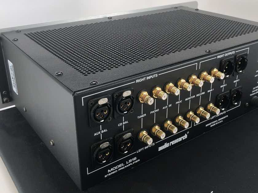 Audio Research LS16 Tube Preamplifier - Rare 220v Version