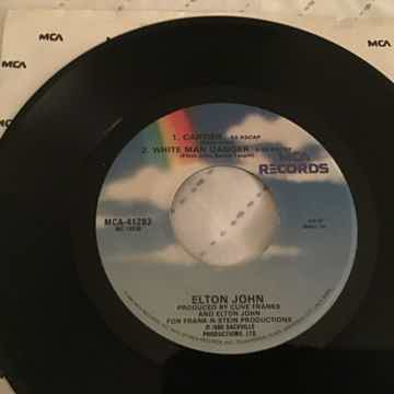 Elton John 3 Track EP Vinyl NM Don't Ya Wanna Play This...