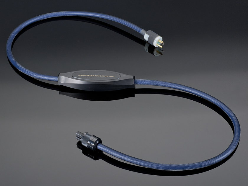 Transparent Audio Power Link (PLMM2x) 15iec Power Cable: New-in-Box