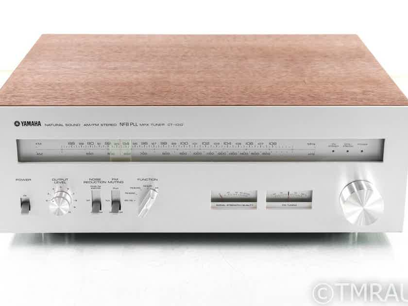 Yamaha CT-1010 Vintage AM / FM Tuner; Walnut; CT1010 (29305)