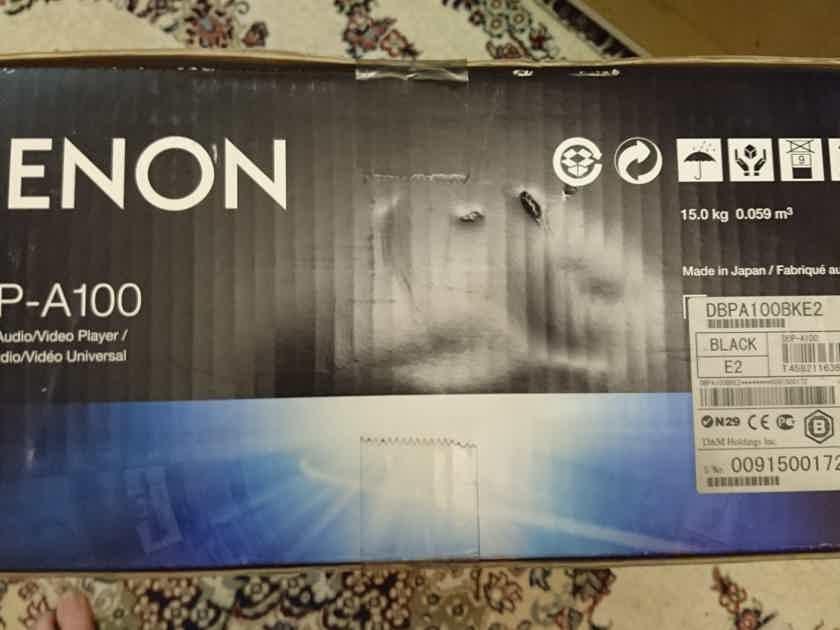 New Denon DBP-A100 Universal Blu-ray / CD / DVD / SACD / DVD-Audio Player