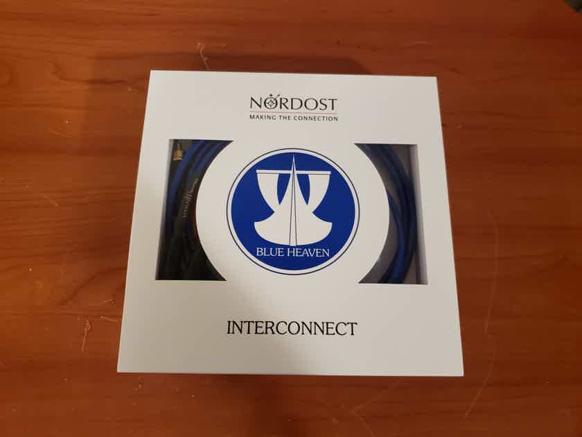 Nordost Blue Heaven Leif Series Interconnect Cables. 1 Meter. RCA.