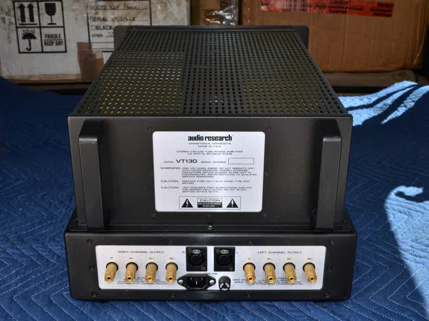 "Audio Research VT-130 SE Amplifier ""Hot-Rodded"" by Great Northern Sound"