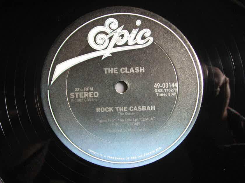 """The Clash - Rock The Casbah -  1982 Viny 12"""" 33 RPM Epic 49-03144"""